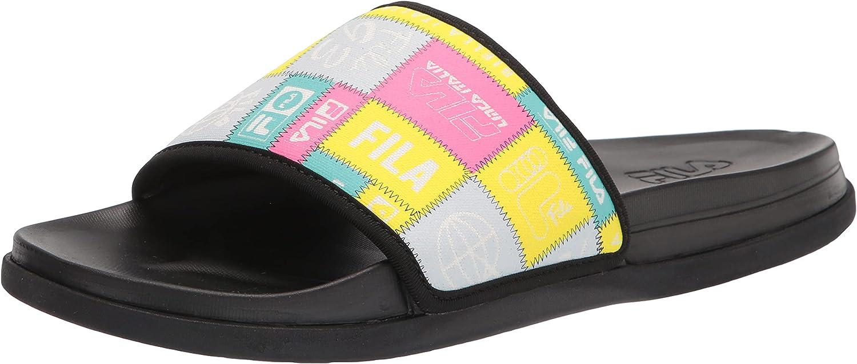 Fila Women's Drifter Lux Patchwork Slide Sandal