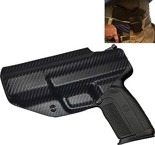 Elite Force Holsters: Kydex Holster fits FN Five Seven 5.7 FN MK2 Audible Click - Carbon Fiber, Right Hand