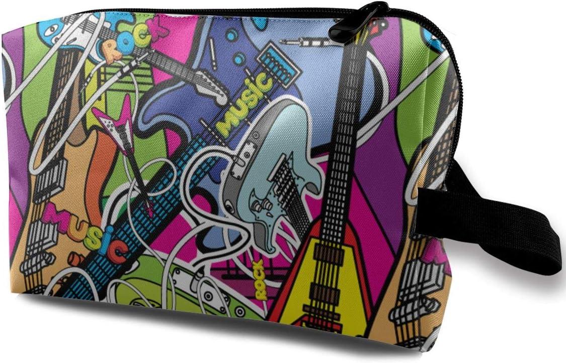 QiiRy Abstract Music Graffiti Popular brand Art Bags Dust-Proo Many popular brands Travel Portable