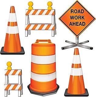 Beistle 54376 Road Crew Cutouts, 11
