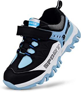 Kostiko Kids Shoes Breathable Waterproof Sports Shoes Athletic Walking Running Shoes for Boys Girls