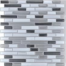 Art3d 10-Piece Stick on Backsplash Tile for Kitchen/Bathroom, 12