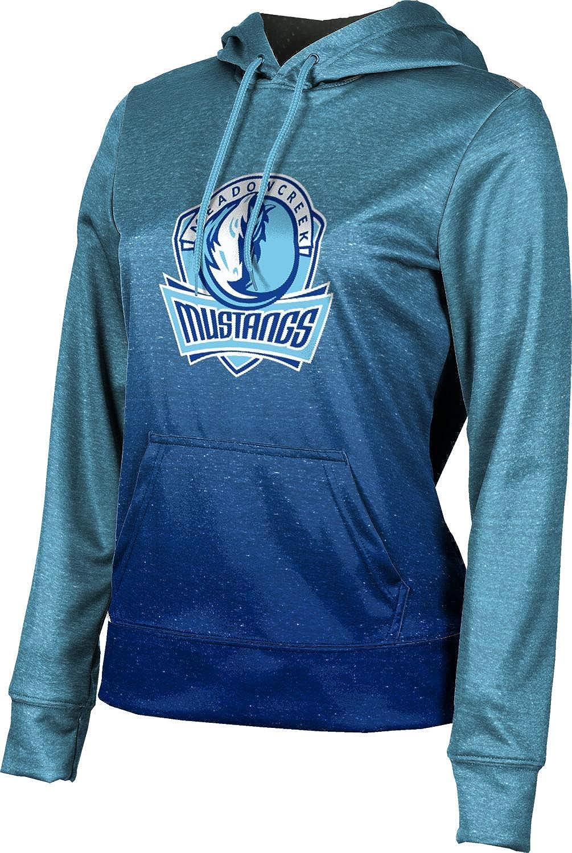 ProSphere Meadowcreek High School Girls' Pullover Hoodie, School Spirit Sweatshirt (Ombre)