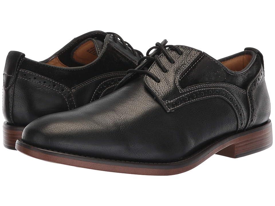 Dockers Henson (Black Soft Milled Polished Full Grain/Waxed Suede) Men