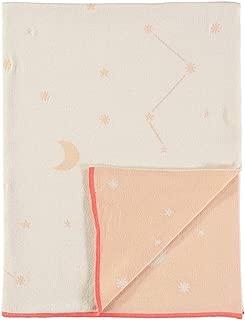 Meri Meri Pink Constellation Knitted Blanket