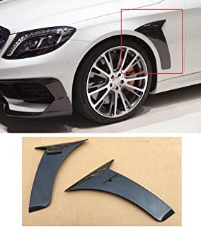 kit-car Carbon Fiber Front Fender Add-On Side Covers for Mercedes-Benz S-Class S63 S65 AMG W222 Brabus 850 s Rocket 900 Style