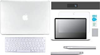 Protector Carcasa Case para Macbook + Protector Skin Cover de Teclado en ESPAÑOL + Protector Mica de Pantalla + Protector ...
