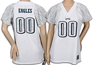 Philadelphia Eagles NFL Women's Team Field Flirt Fashion Jersey, White