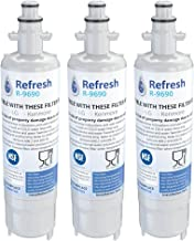 Refresh Replacement Refrigerator Water Filter Compatible with Kenmore 46-9690, ADQ36006102 and LG LT700P, ADQ36006101 (3 P...