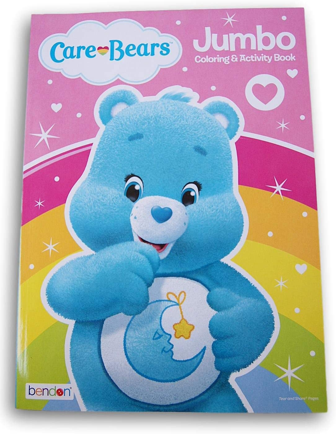 Amazon Com Care Bears Coloring Book 96 Pages Bedtime Bear Toys Games