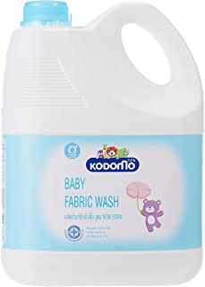KODOMO Baby Laundry Fabric New Born 3000ml(4/c), 3000 milliliters