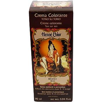 SITARAMA Tinte Vegetal Crema con Henna - Bruno - Sin peróxido ni amoniaco - Sin colorantes sintéticos - Vegan
