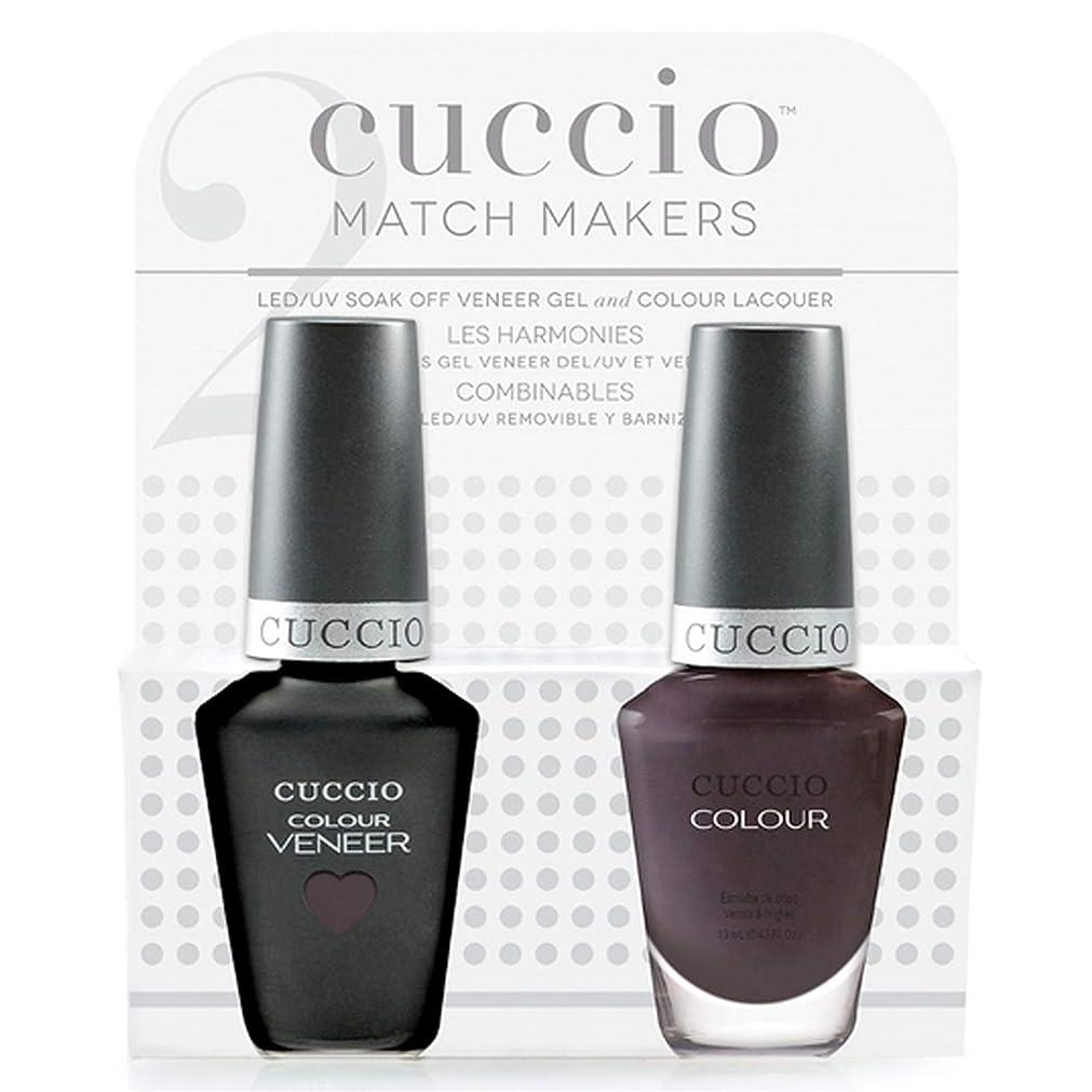 千マウスより多いCuccio MatchMakers Veneer & Lacquer - Pulp Fiction - 0.43oz / 13ml Each