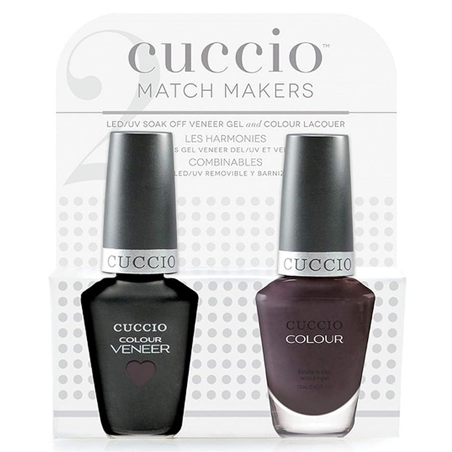 夜明けエンジニアリング言うまでもなくCuccio MatchMakers Veneer & Lacquer - Pulp Fiction - 0.43oz / 13ml Each