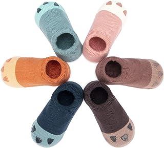 Calcetines Zapato Antideslizantes para Bebé Lote de 6