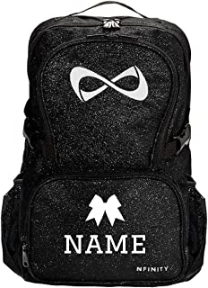 Custom Name Cheer Competition Bag: Nfinity Sparkle Backpack Bag