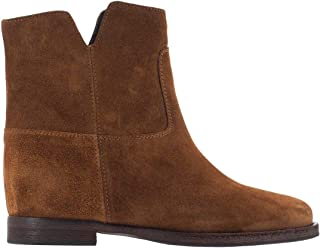 VIA ROMA 15 Luxury Fashion Womens 1626VELOUR Brown Ankle Boots | Fall Winter 19