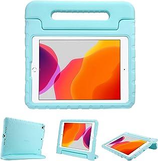"""ProCase iPad 10.2/ iPad Pro 10.5/ iPad Air 3 キッズケース 、耐衝撃性 ハンドルとキックスタンド付き 軽量バンパーケース 対応端末: iPad 10.2"""" 第8世代(2020)&第7世代(2019) ..."""