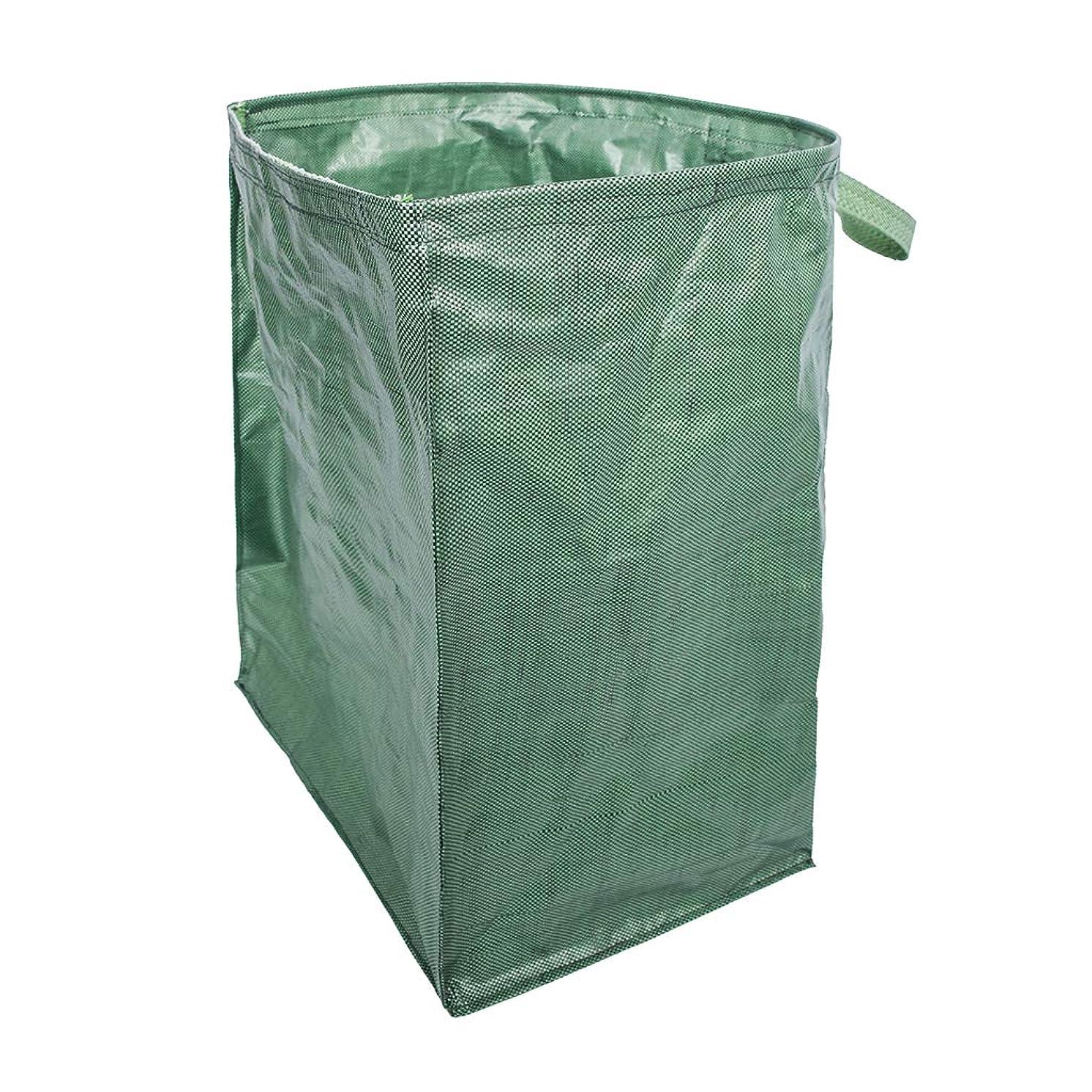 側苦味フォーマットガーデンバッグ ガーデンバケツ ゴミバッグ 集草バッグ 収穫かご 大容量 園芸用 お庭の清掃 再利用可