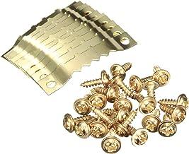 Ankerpunt 10 paar gouden zaagtandhaken foto frame hanger opknoping fotomuur olieverfschilderij zaagtand haken met schroeve...