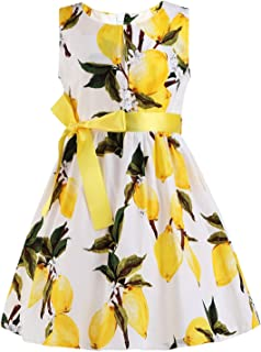 e5946588799 Kid Floral Cotton Girls Dresses Summer Girl Clothes