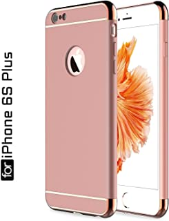 Ron *3-in-1 Shockproof* Dual Layer Thin Back Cover Case for Apple iPhone 6S Plus (Rosegold) *100 Quality Guarantee*