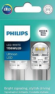 Philips Automotive Lighting 1156WLED Ultinon LED (White), 2 Pack