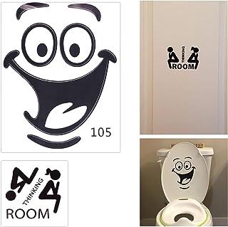 Toilet Lid Decals Amazon Com