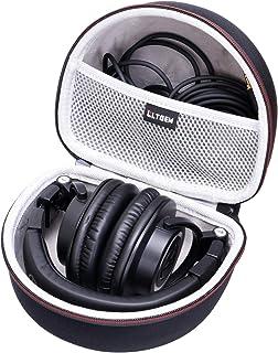LTGEM Almacenamiento Proceso de Llevar Viajar Caso Bolso para Audio-Technica ATH-M50X M50 M70X M40X M30X M20X M50X MG Auricular Profesional Estudio Monitor Auricular