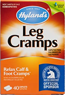 Hyland's Leg Cramps, 40 Caplets by Hylands (Pack of 2)