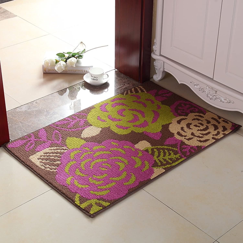 European Carpet Doormat Doormats Entrance Door Mats Hall,Bedroom,The Door,Hall,Non-Slip Mat-D 100x150cm(39x59inch)