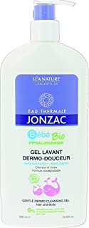 Eau Thermale Jonzac Hair and Body Organic Cosmetic Baby Care Gentle Dermo Cleansing Gel, 500 ml