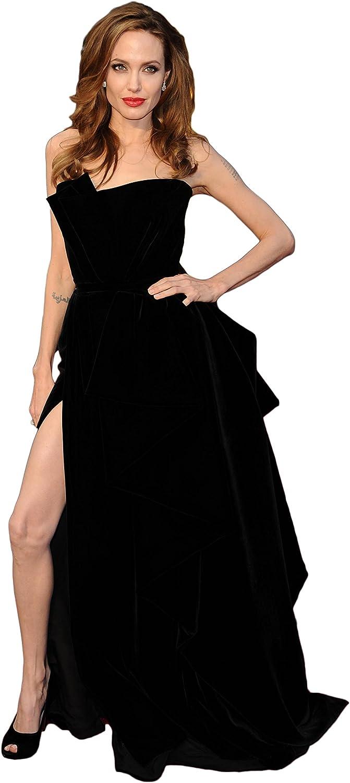 Ranking TOP17 Angelina 2021new shipping free shipping Jolie Academy Awards RED Car Slit Dress Carpet LIFESIZE