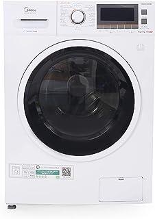 Midea 8 Kg Washer & 6 Kg Dryer, 1400 RPM Washer Dryer, White - MFC80DU1401