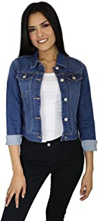 StyLeUp Women's Classic Casual Vintage Denim Jean Jacket/Vest Regular & Plus Size