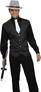 Forum Novelties Men's Gangster Shirt, Vest and Tie Costume - Pick Size