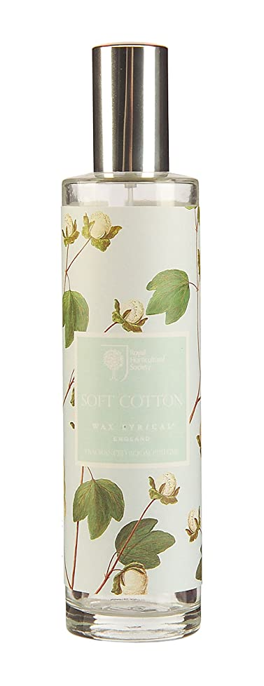 WAX LYRICAL RHS FRAGRANT GARDEN ルームミスト 100ml ソフトコットン CNRH5729