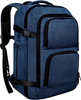 Dinictis 40L Flight Approved Travel Backpack, Waterproof Business Carry on Backpack fit 15.6 Inch Laptop, Durable Weekende...