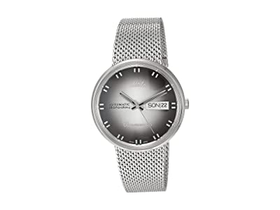 Mido 37 mm Commander Shade Automatic Stainless Steel Mesh M842942711 (Silver) Watches