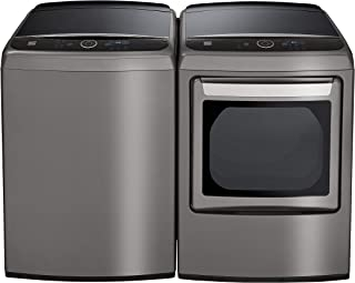 Kenmore Smart Front Load 7.3 cu. ft. Smart Gas Washer and Dryer Bundle with Steam Refresh - Metallic Silver