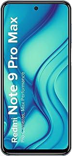Redmi Note 9 Pro Max (Interstellar Black, 6GB RAM, 128GB Storage) - 64MP Quad Camera & Latest 8nm Snapdragon 720G & Alexa ...