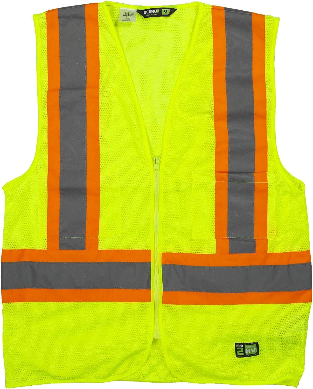 Berne Hi-Vis Class 2 Multi-Color Vest, Mesh
