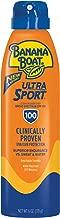 Banana Boat Ultra Sport Sunscreen Spray, New Formula, SPF 100, 6 Ounces