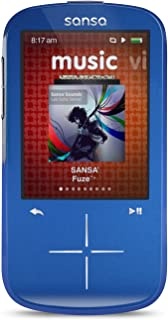 SanDisk Sansa Fuze+ 4GB MP3 with FM Radio - Blue (Discontinued by Manufacturer)