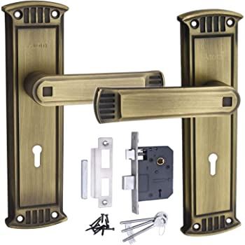 "MORTICE Handle, MORTICE Lock, Door Lock, Lock, Atom Lock Glanza K/Y B.A.8"" with Lezend 65mm Double Action Lock,Mortise Lock,Door Lock"