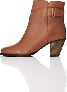 find. Casual Ankle Leather Boots, Bottes Femme