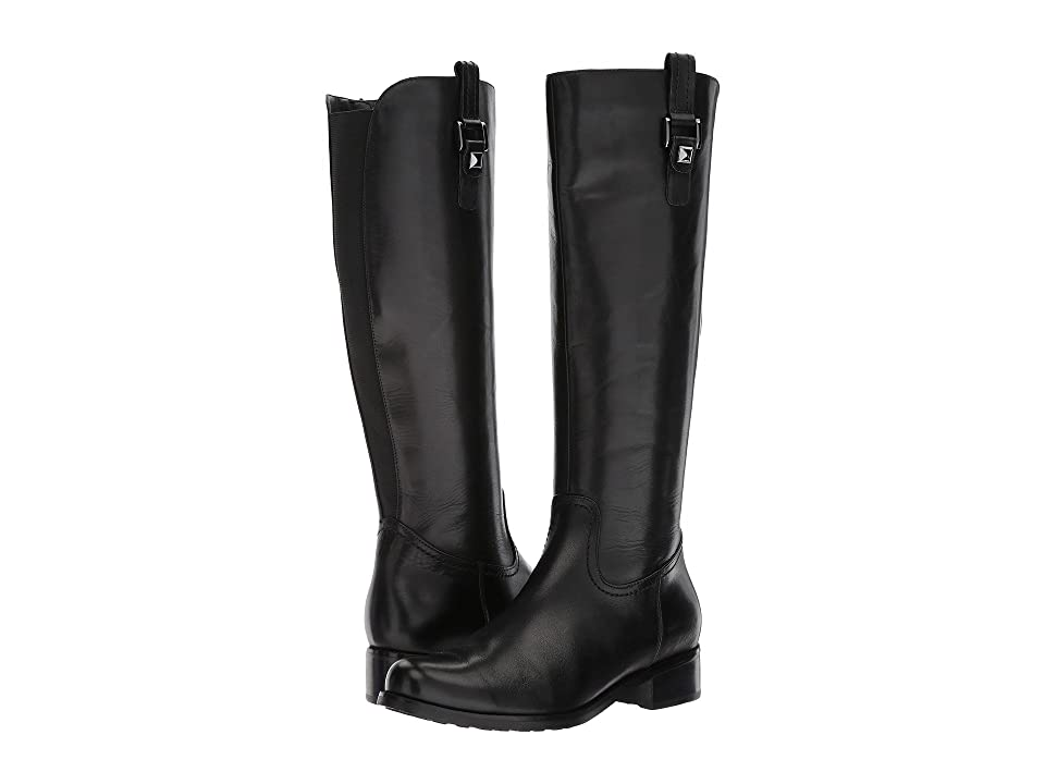 Blondo Velvet Waterproof (Black Leather) Women