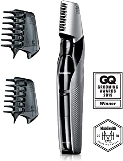Panasonic Electric Body Groomer & Trimmer for Men ER-GK60-S, Cordless, Showerproof with 3 Comb Attachments, Washable