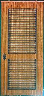 Louver Door Beaded Curtain 125 Strands (+hanging hardware)