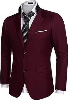 Men's Casual Dress Suit Slim Fit Stylish Blazer Coats Jackets